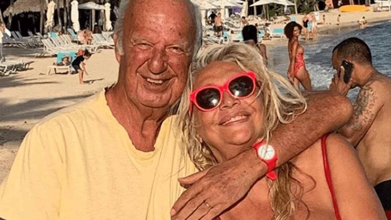 Mara Venier con suo marito