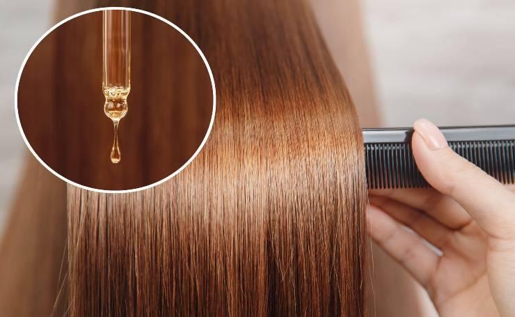 Olio di Neem da applicare sui capelli
