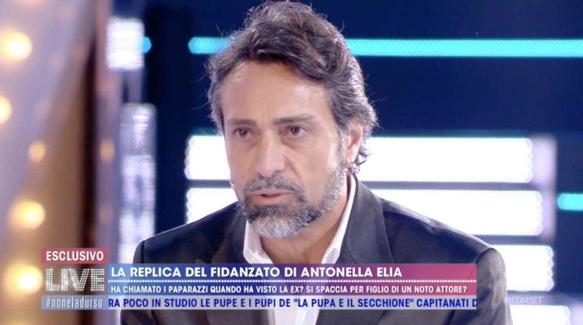 Pietro Delle Piane si scusa con Antonella Elia