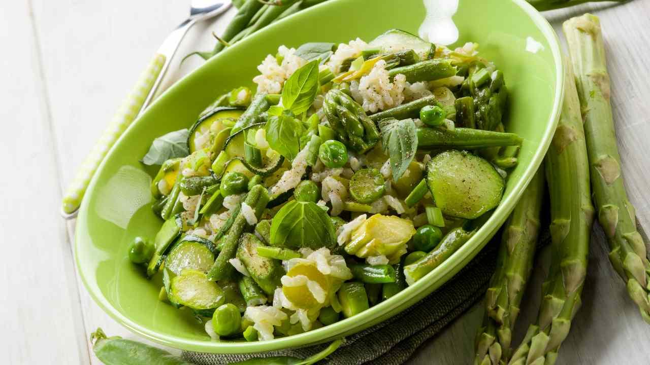 Risotto Asparagi Zucchine.Risotto Asparagi Zucchine E Carote Ricetta Preparazione