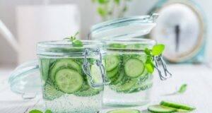acqua di cetriolo bevanda detox