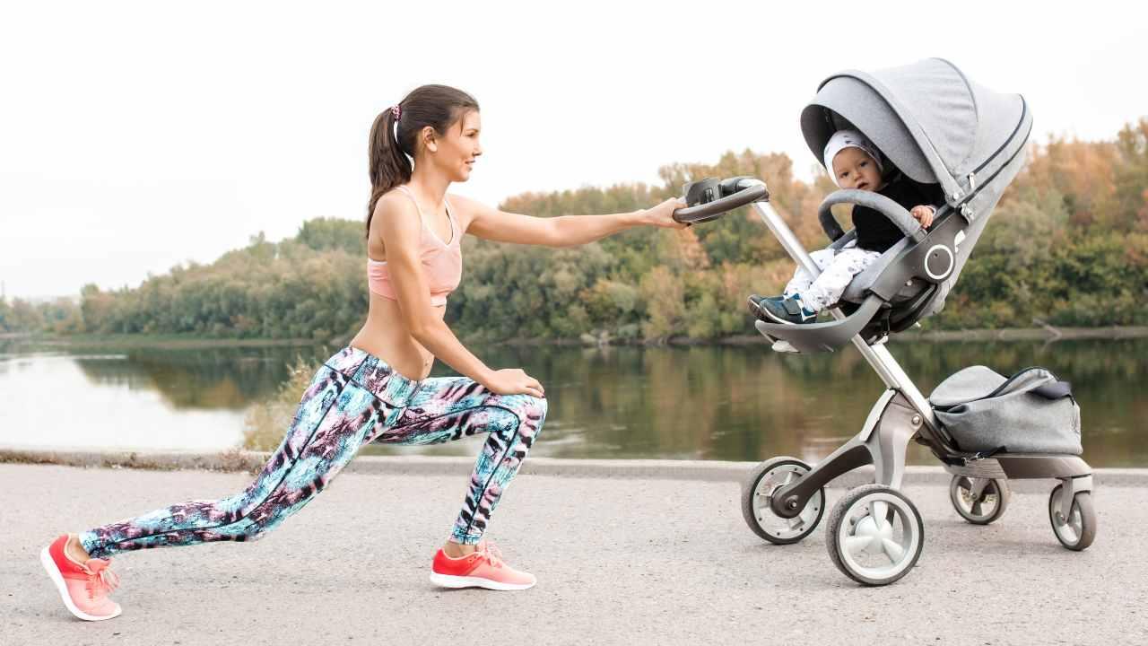 fitness passeggino post partum