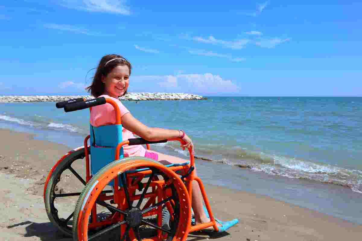 Spiagge italiane accessibili ai disabili