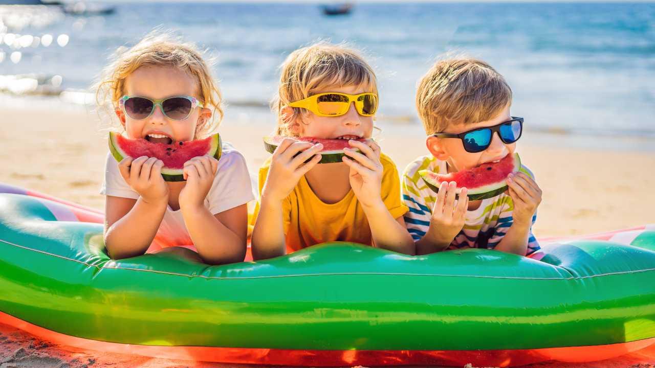 bambini cibi bevande estate