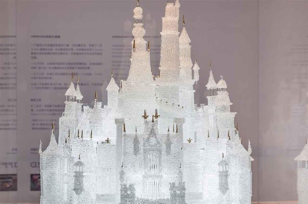 castello di vetro disney