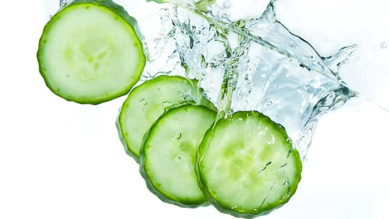 acqua di cetriolo