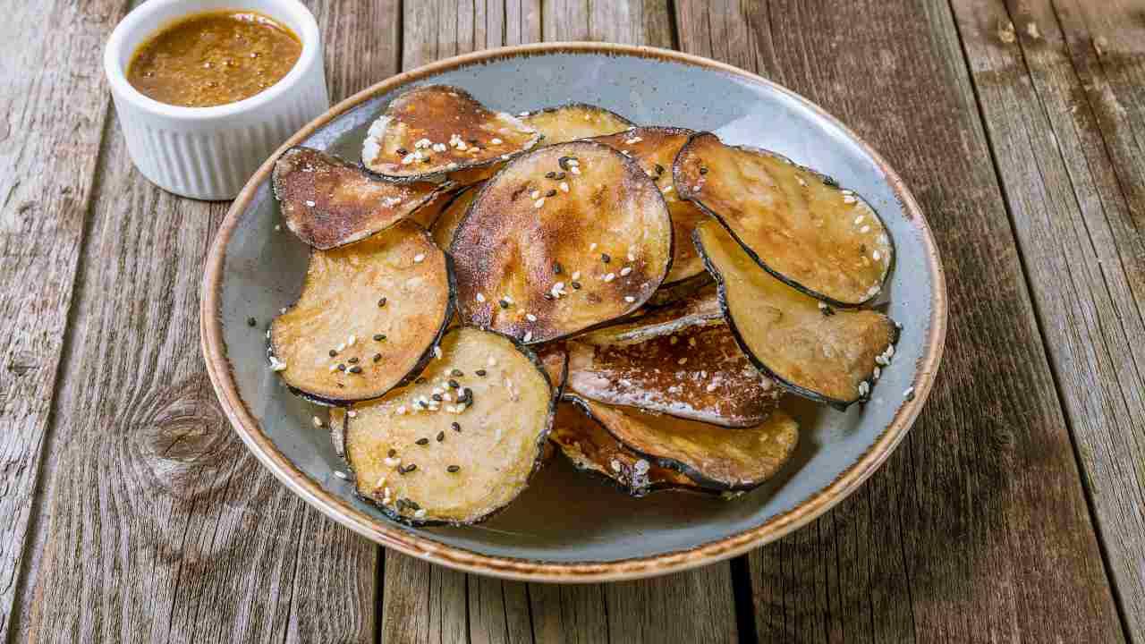 chips melanzane