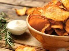 chips patatine fritte e al forno