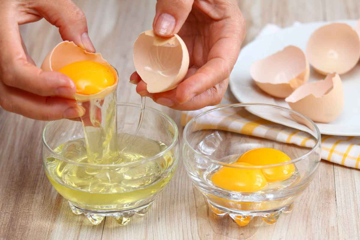 albume d'uovo perché fa bene