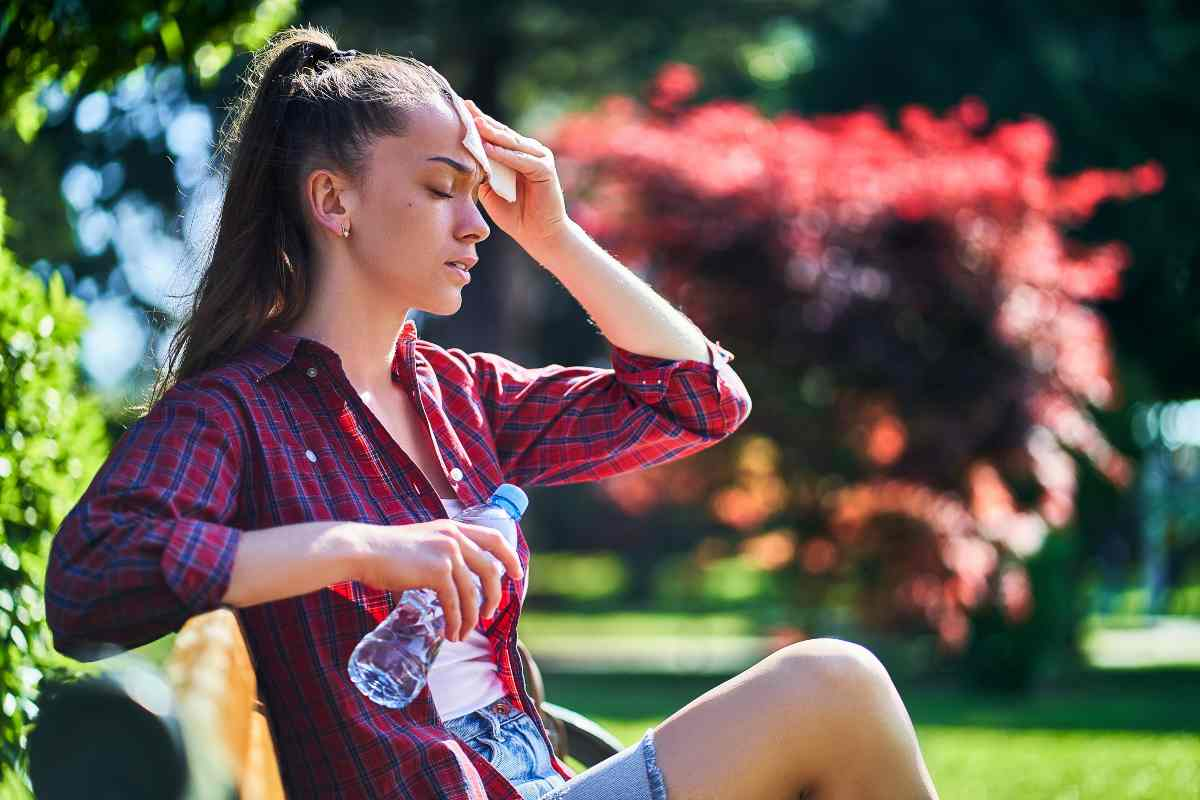 disidratazione estiva