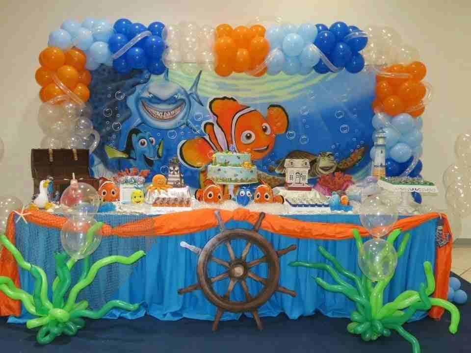 Festa compleanno tema Nemo e Dory le idee in una gallery
