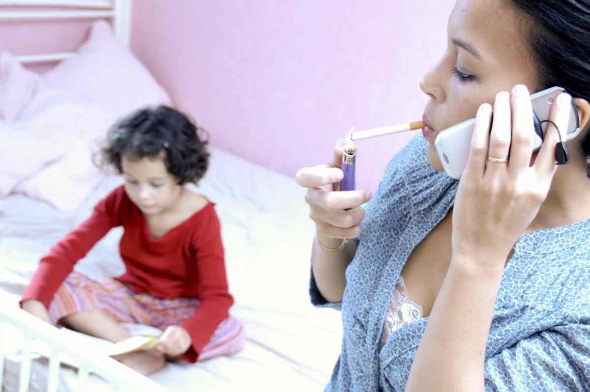fumo passivo le conseguenze per la salute dei bambini