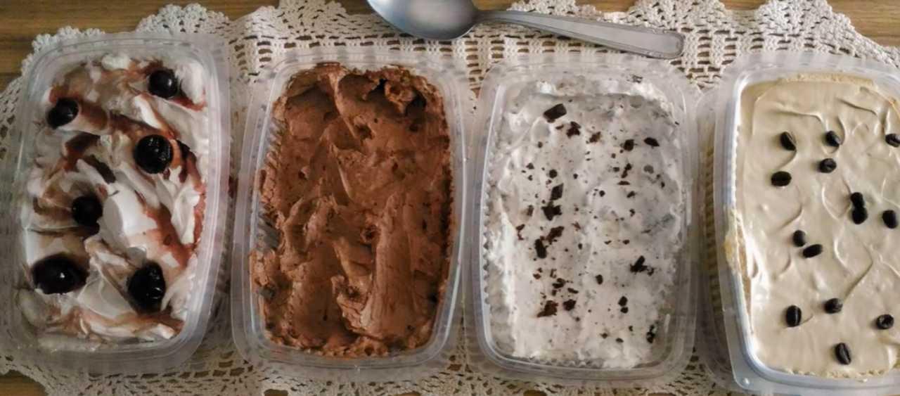 gelato fatto in casa 2 ingredienti senza gelatiera