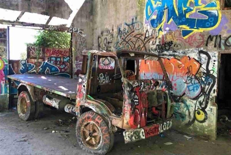 camion graffiti
