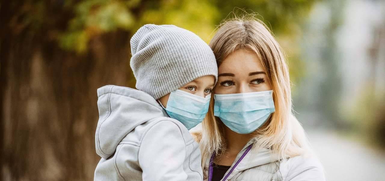 per bambini mascherine dai 3 anni in su