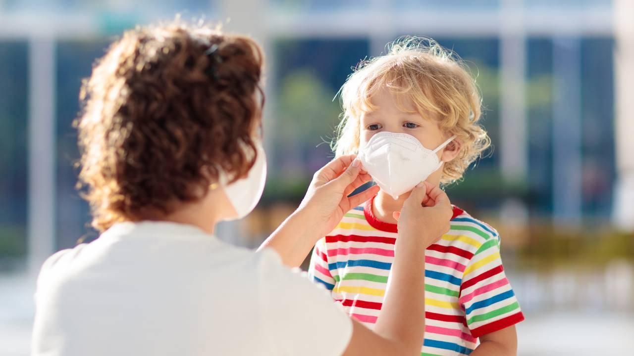 per bambini mascherina dai 3 anni