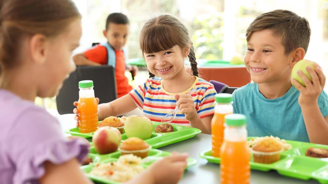 bambini pranzo ideale