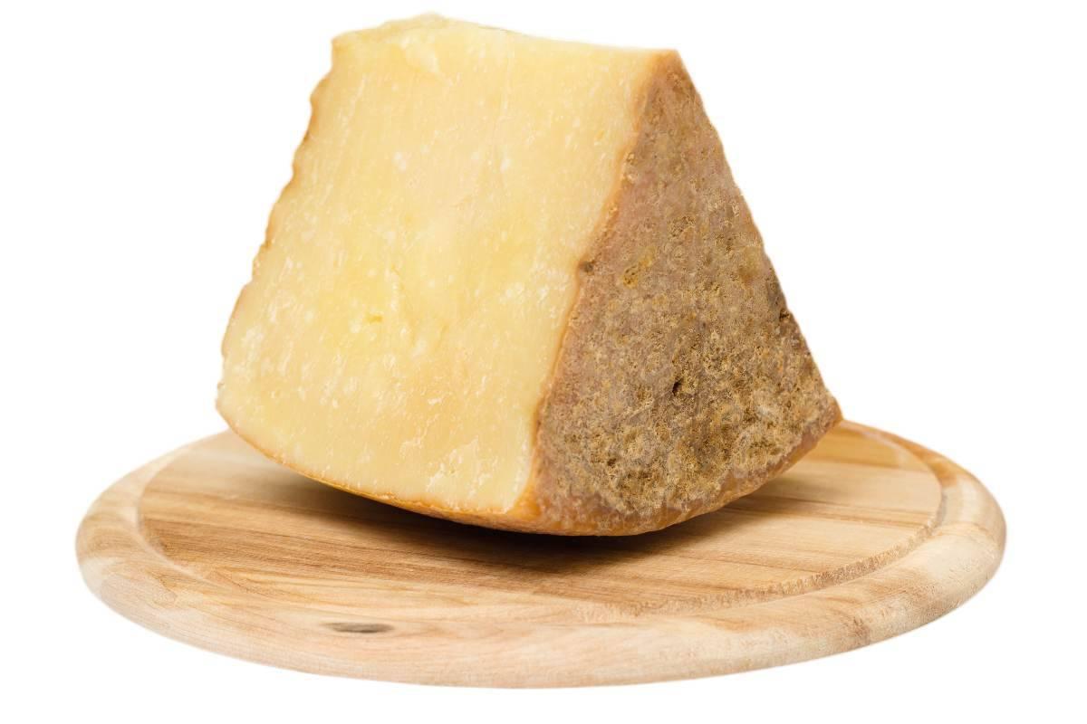 pezzo di formaggio pecorino
