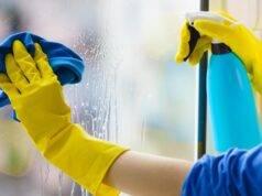 pulire vetri esterni e interni