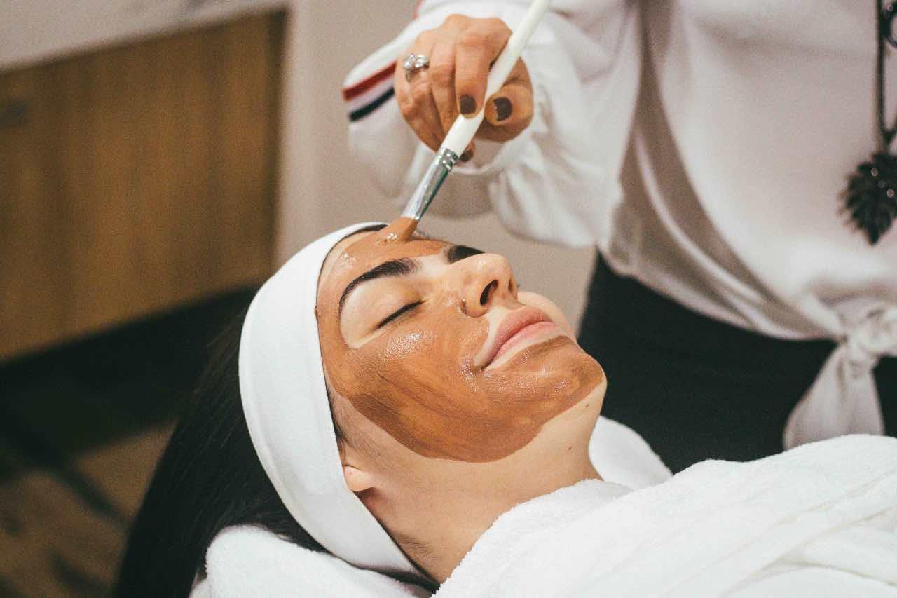maschera viso anti-rughe