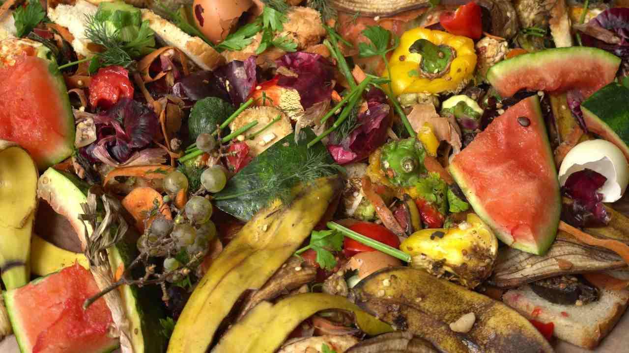 scarti frutta verdura