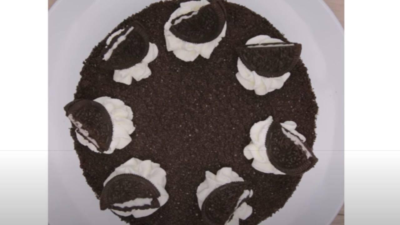 Ricetta Cheesecake Oreo Giallo Zafferano.Torta Oreo Ricetta Facile Cheesecake Senza Cottura