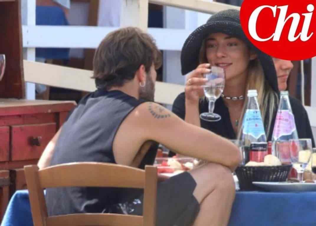 Andrea Iannone e Soleil Sorge insieme