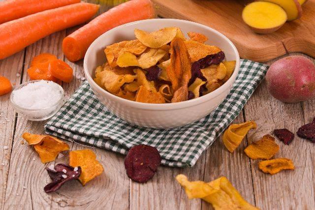 Chips veg, soddisfa la tua voglia di patatine! RICETTA