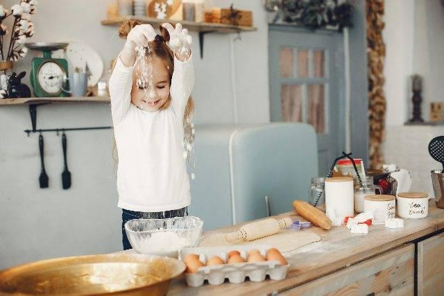 Bambini in cucina: