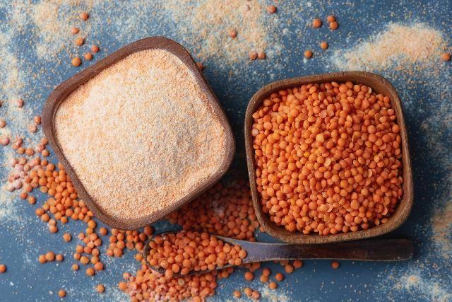 Le farine di legumi