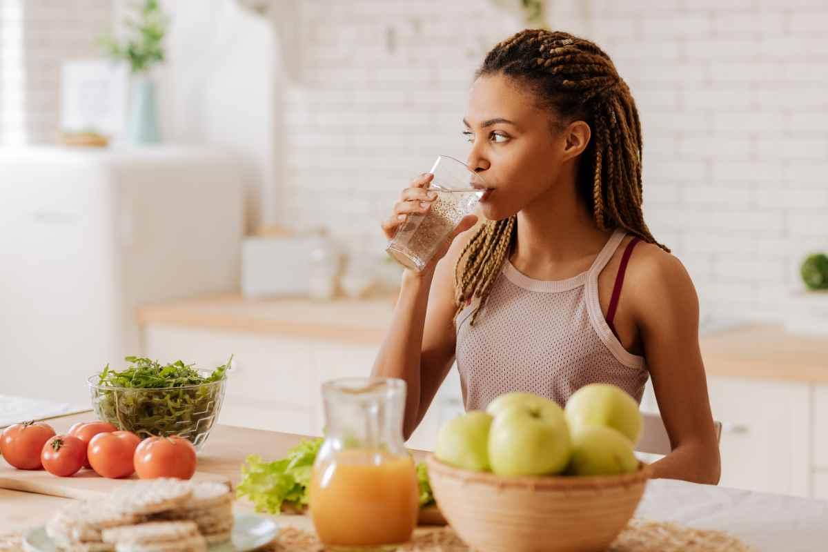 Disidratazione: cosa mangiare