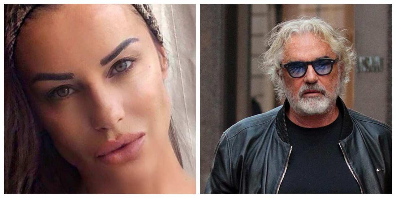 Antonella Mosetti e Briatore positivi al covid