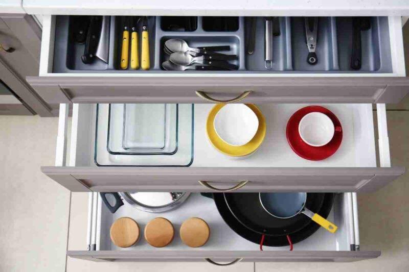 Come organizzare al cucina