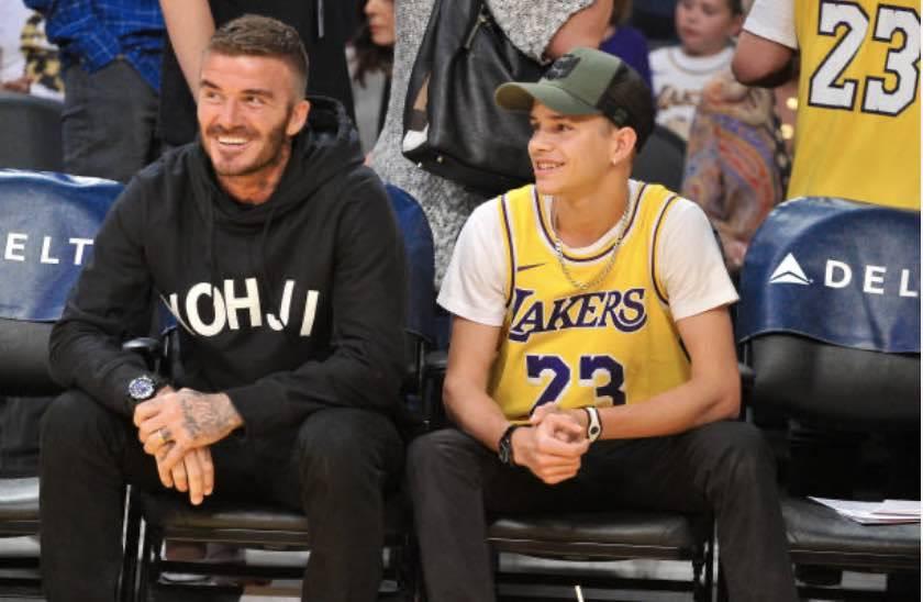 David e Romeo Beckham, due gocce d'acqua (Getty Images)
