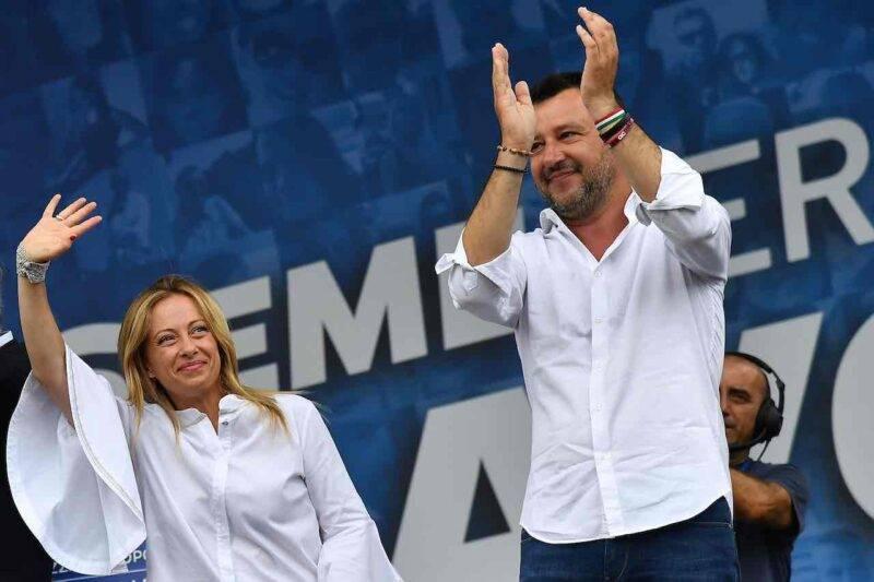 Discoteche chiuse, il disappunto di Meloni e Salvini (Getty Images)