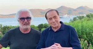 Flavio Briatore Silvio Berlusconi