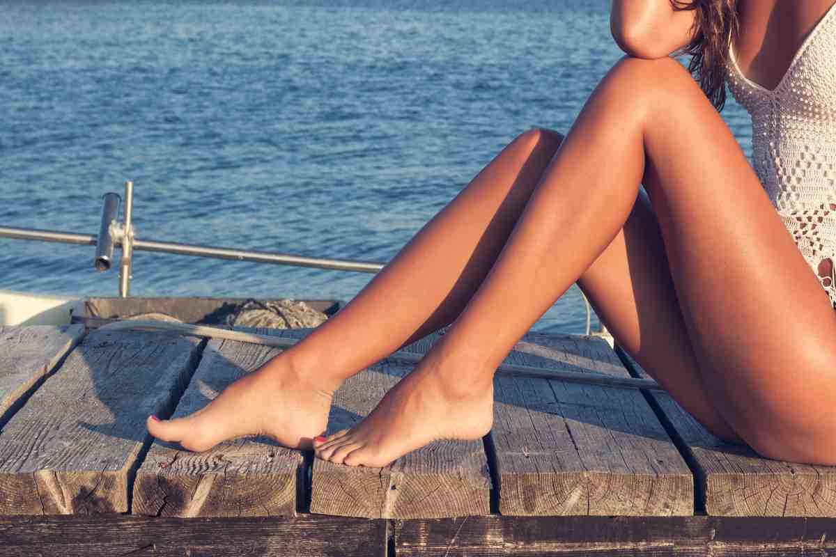 Gambe perfette in estate