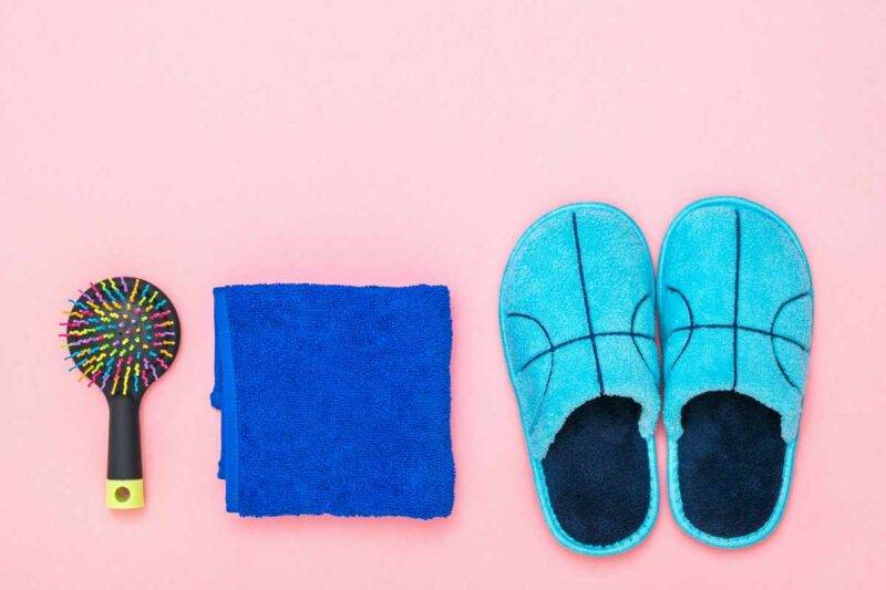 Pantofole pulite
