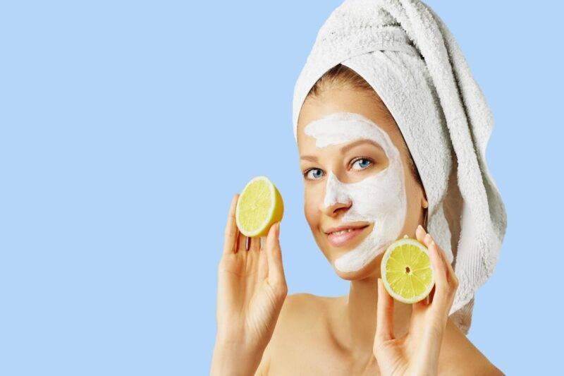 Limone per la cura dei capelli e pelle
