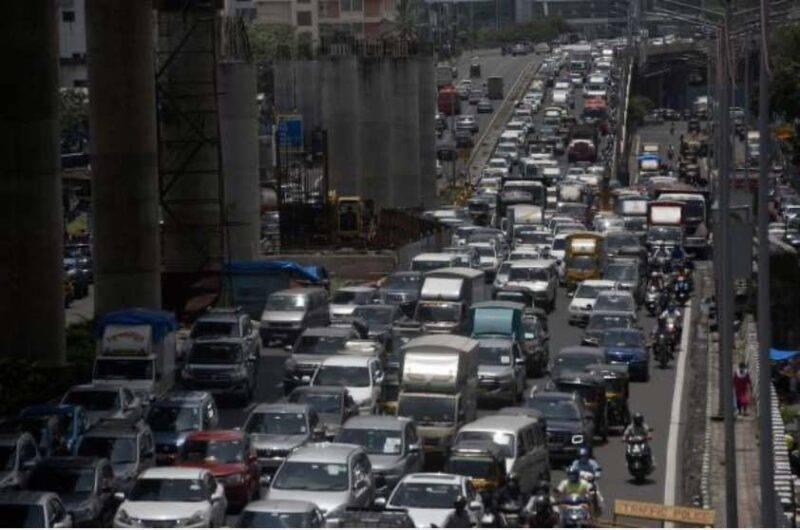 Mumbai, come cambiano i segnali stradali (Getty Images)