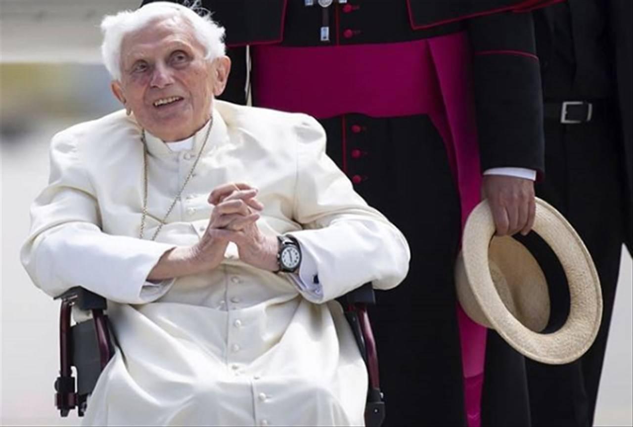 Papa Ratzinger tomba