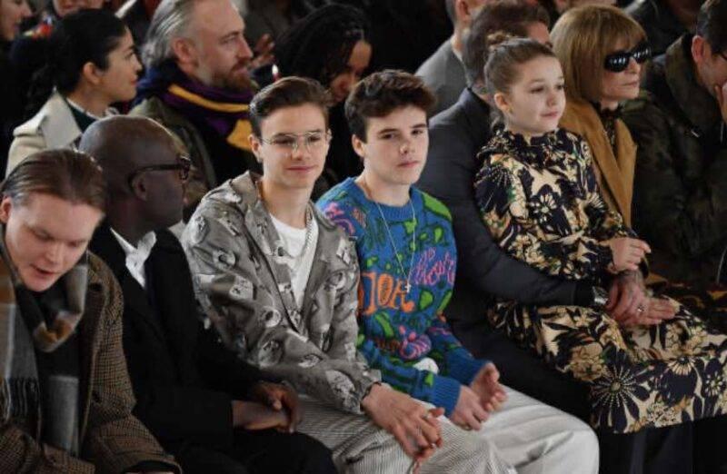 Romeo Beckham, la somiglianza con il padre è notevole (Getty Images)