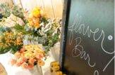 flower bar matrimonio