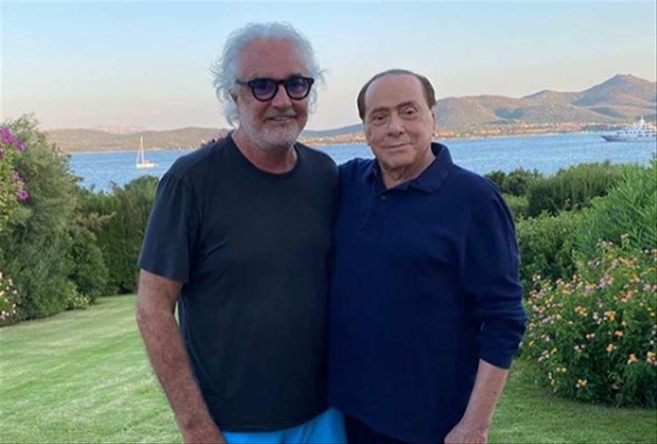 Silvio Berlusconi e Flavio Briatore