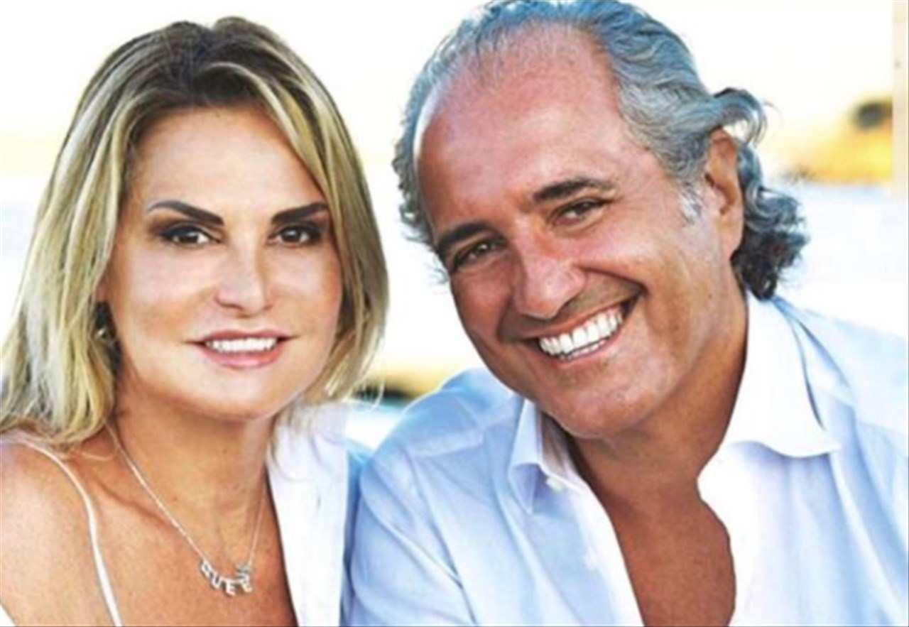 Simona Ventura e Giovanni Torti matrimonio