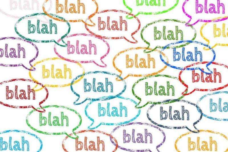 chiacchiericcio, parole, sparlottare