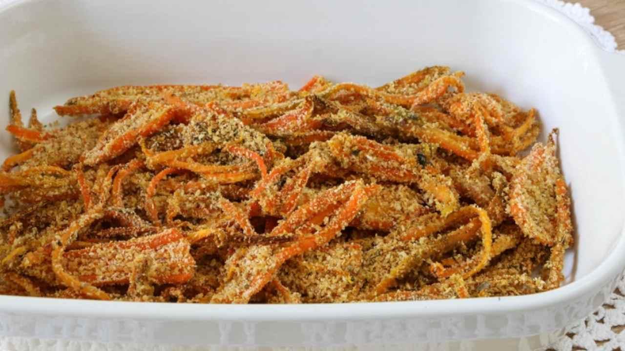 carote gratinate al forno