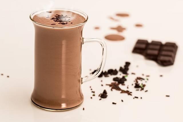 cioccolata calda di sera