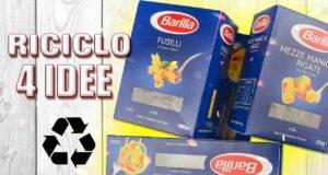 Come riciclare in modo creativo le scatole di pasta