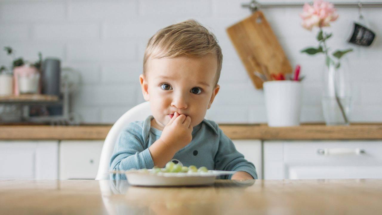 soffocamento da cibo nel bambino
